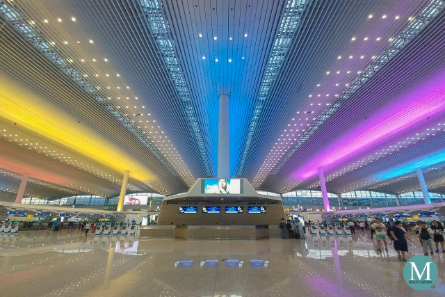 Terminal 2 of Guangzhou Baiyun International Airport