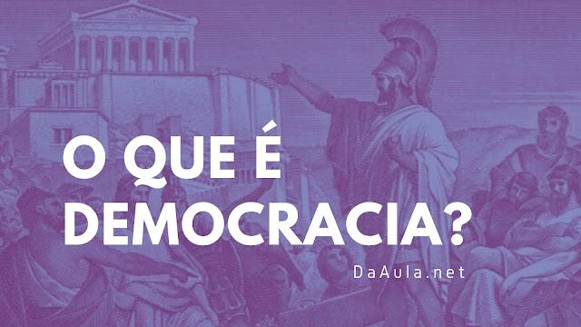 Sobre a Democracia antiga e contemporânea