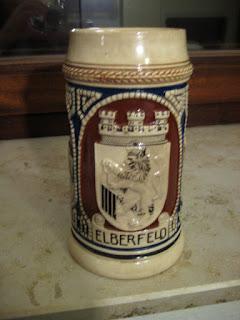 Ein Elberfelder Bierkrug aus dieser Zeit