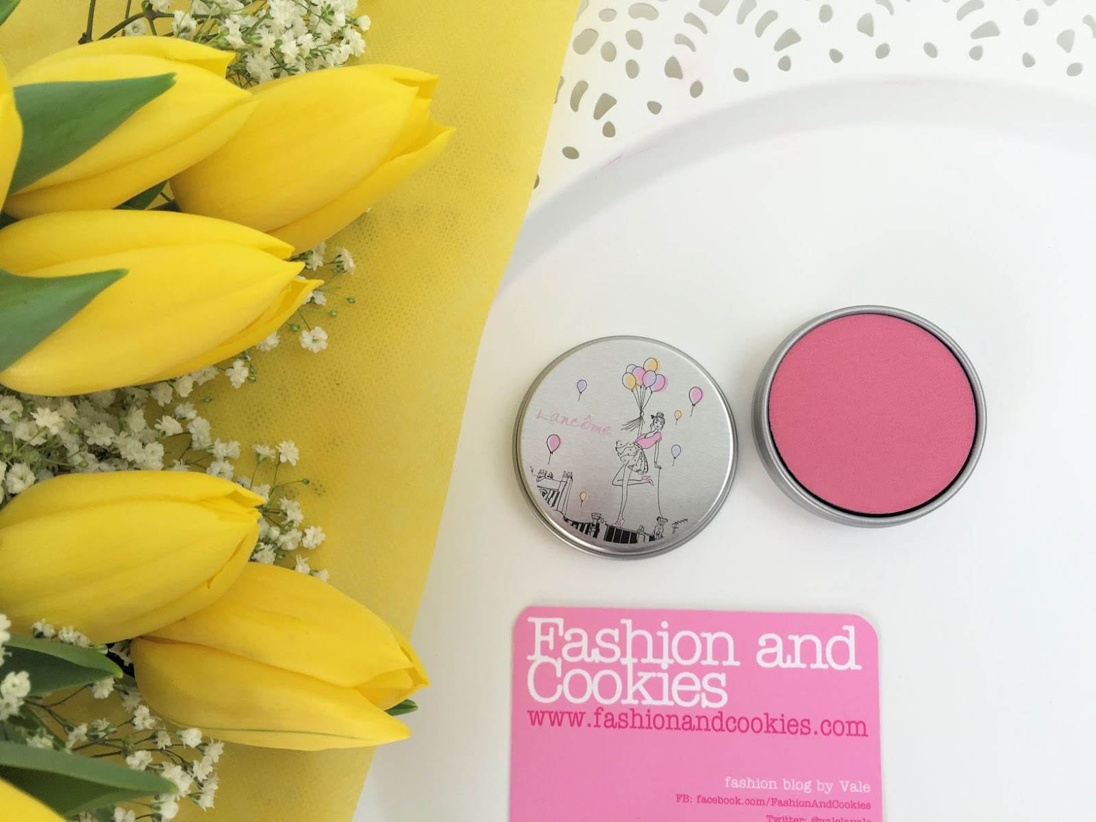 Lancôme makeup collection for Spring 2016 My Parisian Pastels blush on Fashion and Cookies beauty blog, beauty blogger