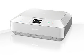 The Canon PIXMA MG7140 Premium 6-ink All-in-One with touch control, cloud as well as mobile printing, Premium 6-ink Image All-in-One for expert results at home. Stylish and easy to use with intuitive touch control, it provides advanced connection for printing from clever devices as well as directly from cloud.