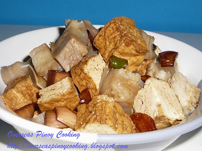 Tokwa't Baboy, Pork and Tofu