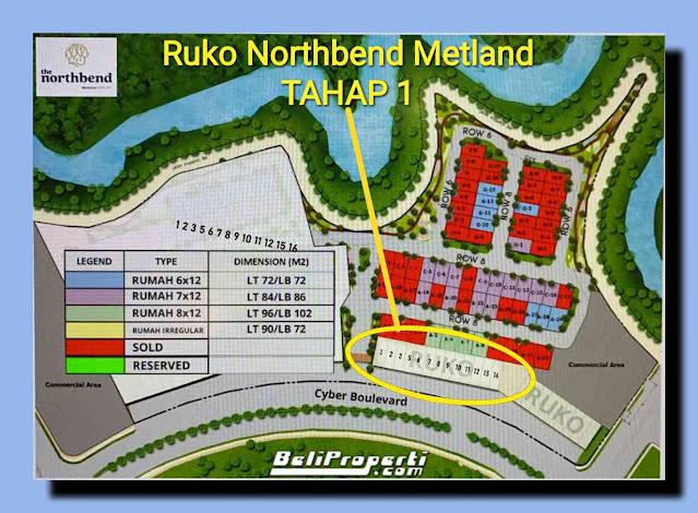 ruko north bend metland