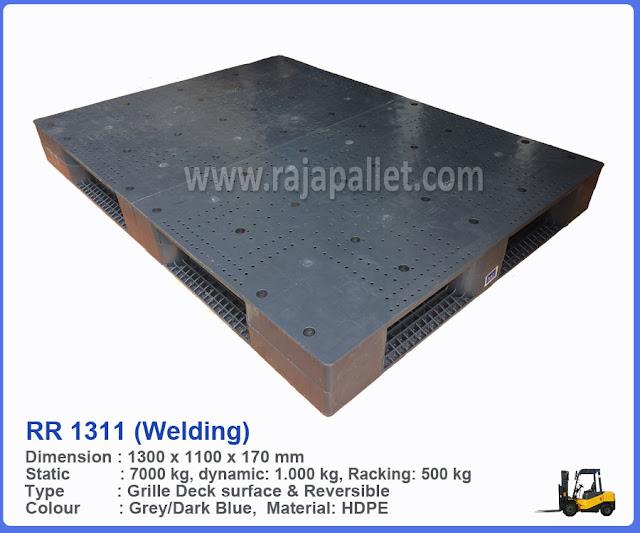 Pallet Plastik RR 1311 (Welding)