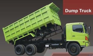 DUMP TRUCK Kapasitas 6 Meter Kubik Mampu angkut 8 Ton