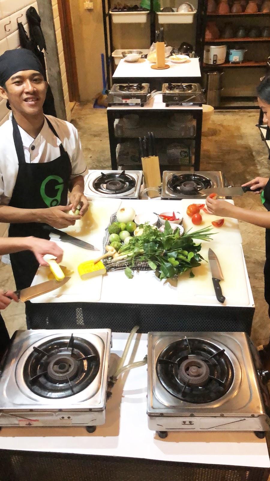 Go Bangkok Tours Cooking Class
