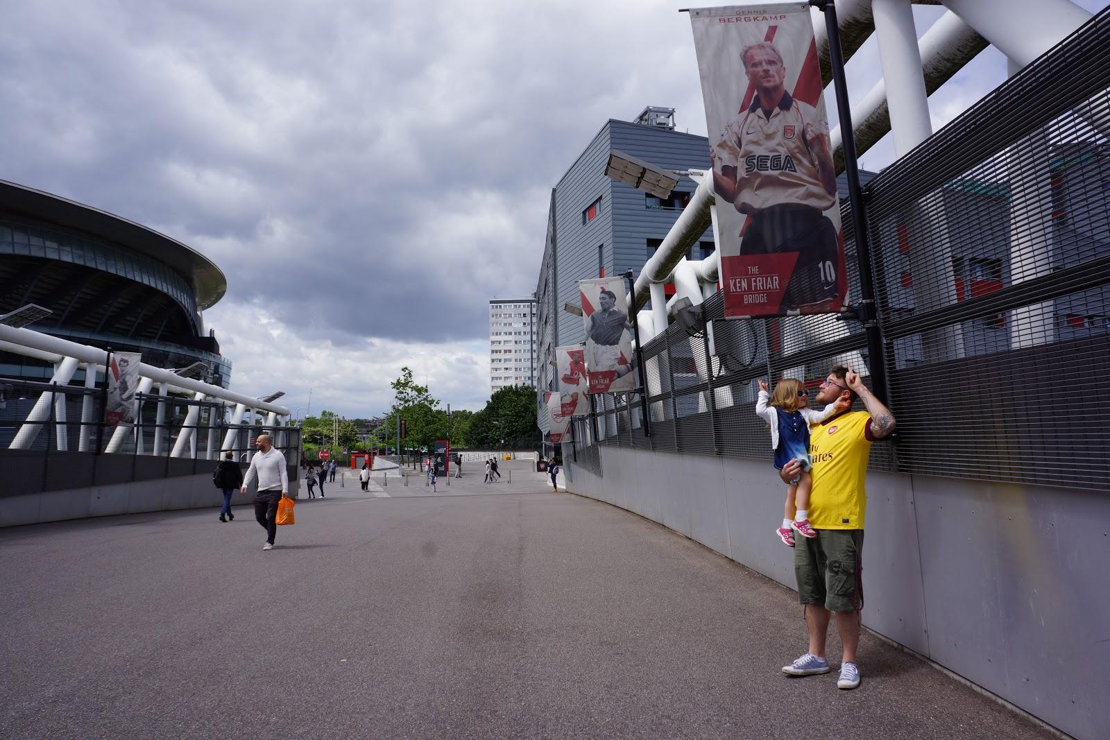 Arsenal Stadium Ken Friar bridge