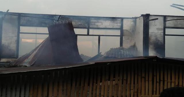 HATI - HATI !! Inilah Penyebab 2 Rumah Kebakaran di Kerinci