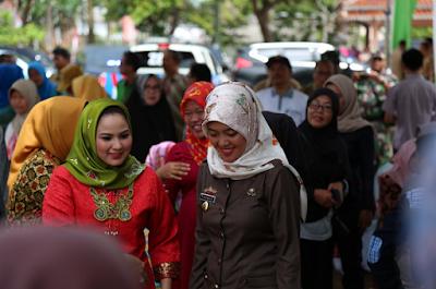 Desa Toto Harjo Kecamatan Purbolinggo Wakili Lampung Timur pada Lomba Kesatuan Gerak PKK-KB Kesehatan Lampung