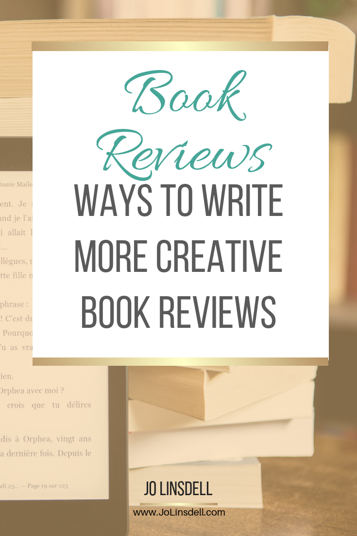 Ways To Write More Creative Book Reviews