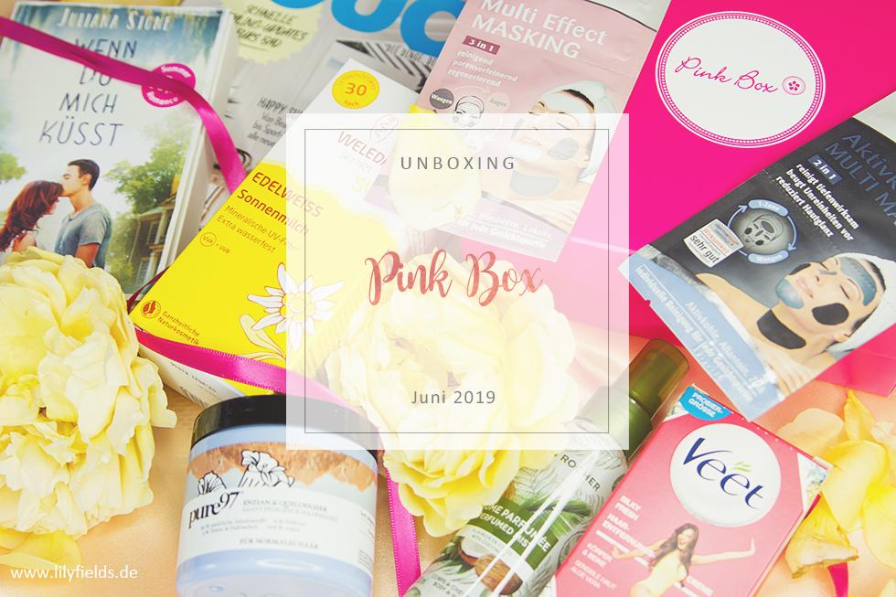Pink Box - Juni 2019 - unboxing