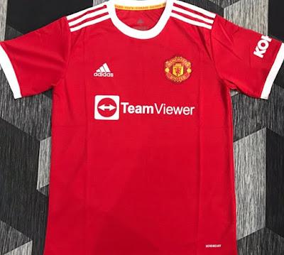 Gambar dan Harga Jersi Baru Manchester United 2021/2022