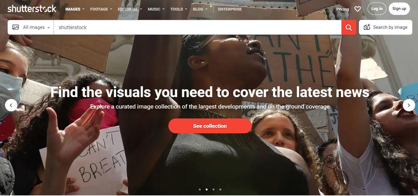 Mendapat uang dengan Shutterstock
