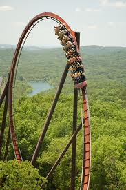 Wildfire Roller Coaster at Silver Dollar City, Branson, Mo