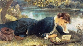 BE engrossed in reading...