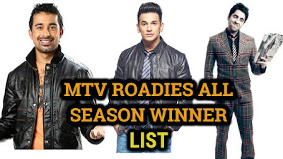 ROADIES ALL SEASON WINNER