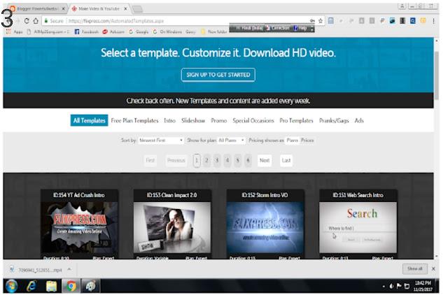 Youtube चैनल के लिए फ्री में इंट्रो विडियो कैसे बनाये