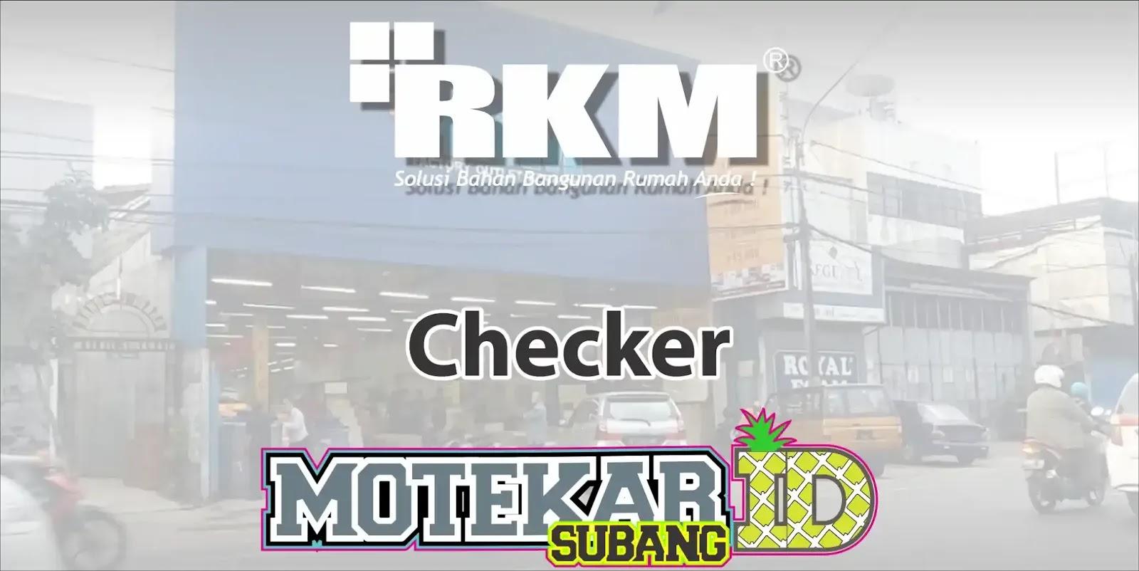 Lowongan Kerja Checker Subang Rkm Pamanukan 2019 Motekar