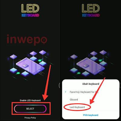 Cara Ubah Keyboard Android Biasa Kamu Jadi keyboard Android LED RGB