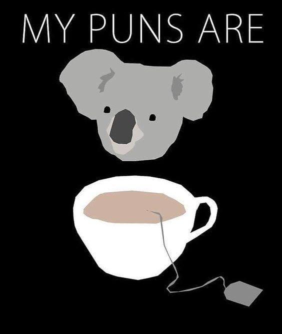 My puns...