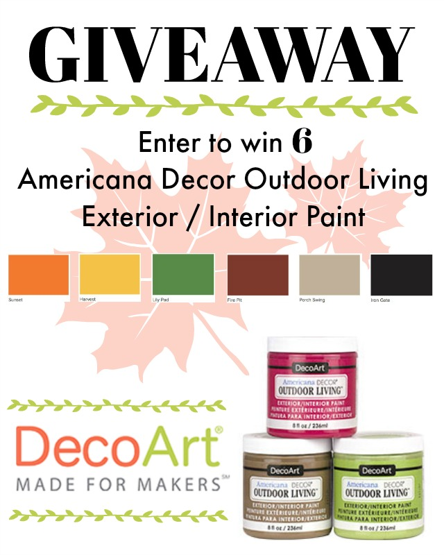decoart paint giveaway