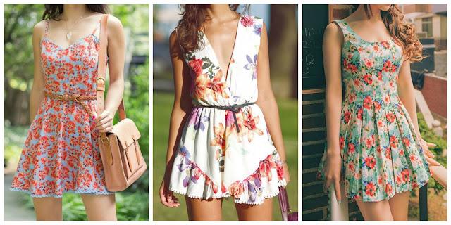 É tendência: Estampa Floral!