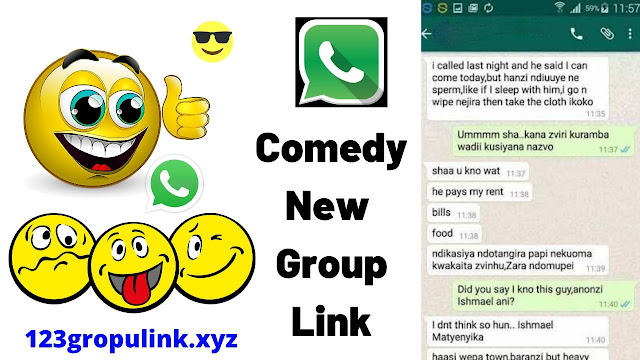 Join 700+ Comedy Whatsapp Group Link