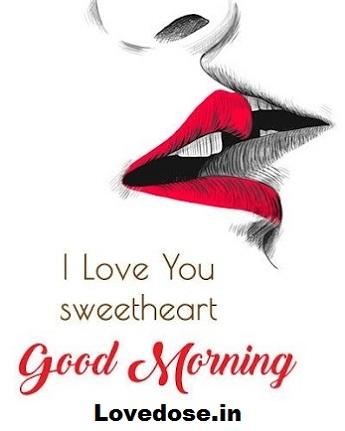 romantic good morning image for girlfriend - boyfriend