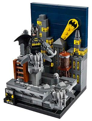 "San Diego Comic-Con 2019 Exclusive DC Comics ""The Dark Knight of Gotham City"" Batman LEGO Set"