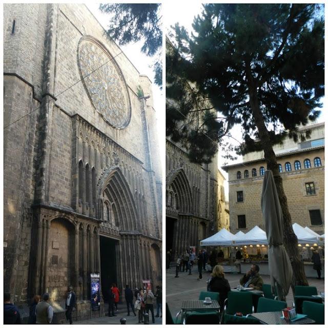 Praças para curtir Barcelona - Plaça de Sant Josep Oriol e Plaça del Pi