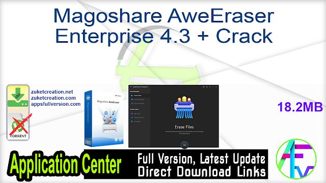 Magoshare AweEraser Enterprise 4.3 + Crack