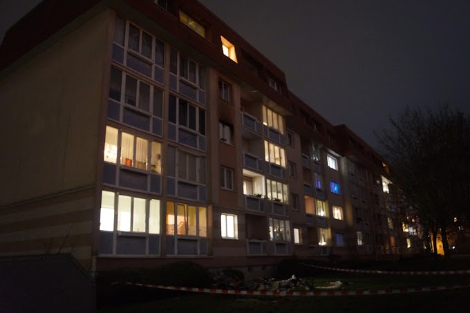Wohnungsbrand in Köthen - Eine Person stirbt