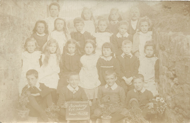 Broadwey school 1900's