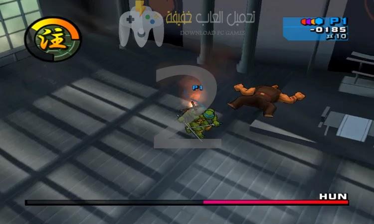 تحميل لعبة سلاحف النينجا جميع الاصدارات للكمبيوتر برابط مباش