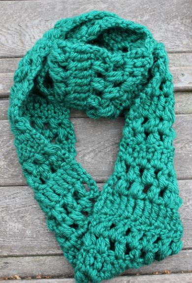 Crochet Scarf Patterns Using Q Hook : Crochet
