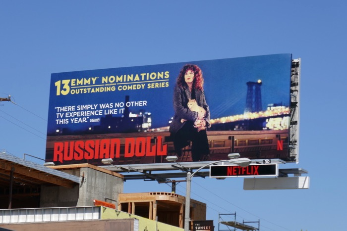 Russian Doll 13 Emmy nominations billboard