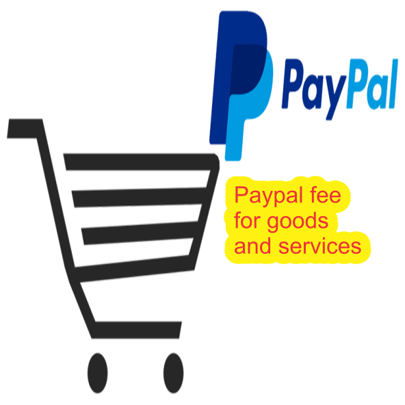 Paypal fee for goods and services