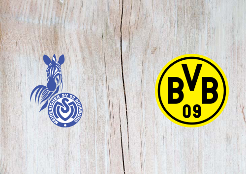 MSV Duisburg vs Borussia Dortmund -Highlights 14 September 2020