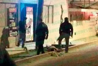"""Balacera en Xalapa hoy deja un muerto afueras del bar """"Ladies"""""""