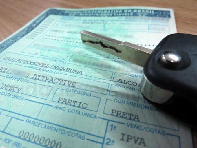 Pagamento com desconto de 10% do IPVA de placa com final 7 termina nesta sexta-feira