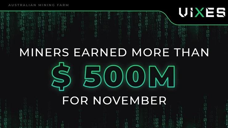 Отчет за ноябрь от Vixes