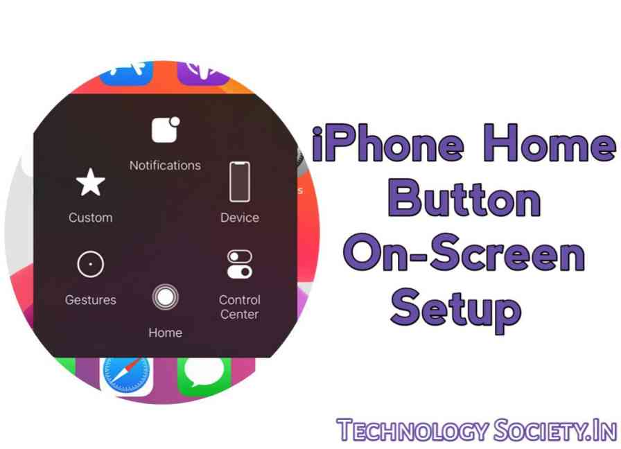 Home Button On-screen on Your iPhone