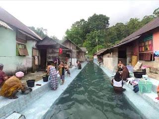 Sungai Asinahu, Sungai Berkeramik di Desa Wisata Sawai, Maluku