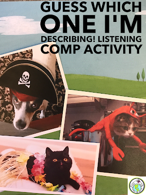 Listening Comprehension Activity for Foreign Language Class