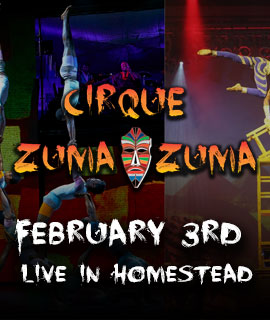 Cirque Zuma Zuma  Seminole Theatre