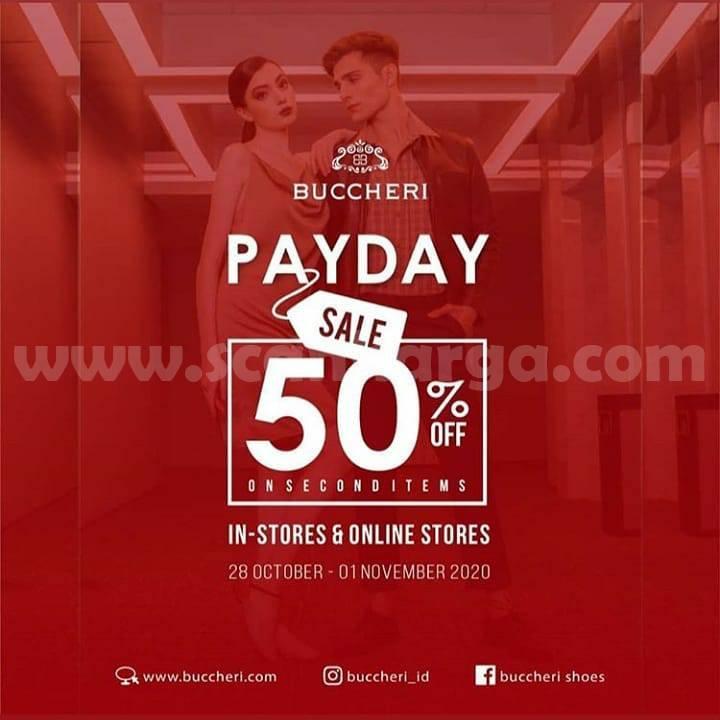 Promo BUCCHERI Payday Sale Disc 50% Off