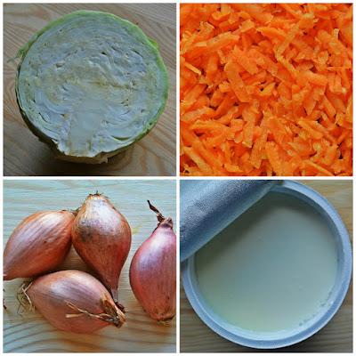 Domowa surówka coleslaw - Składniki