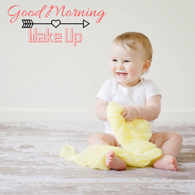 beautiful and vary cute baby  good morning images