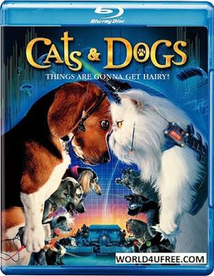 Cats & Dogs (2001) 480p 300MB Blu-Ray Hindi Dubbed Dual Audio [Hindi + English] MKV