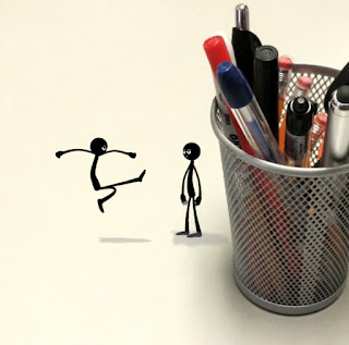 Stylish Stick Figures by TET.